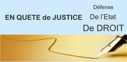 En quête de justice par LES REPUBLICAINS